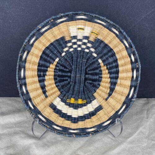 Hopi Wicker Eagle Plaque Basket