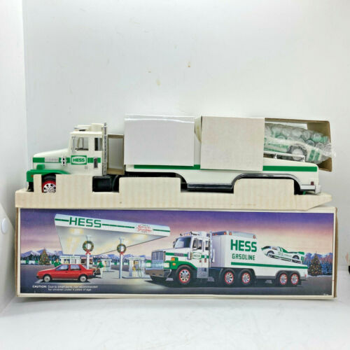 1988 Hess Toy Truck and Racer New In Box