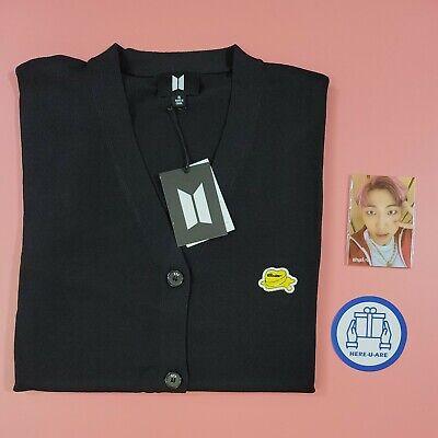 BTS Butter Cardigan XL with 7 photo cards jk rm v jimin jin suga j hope New