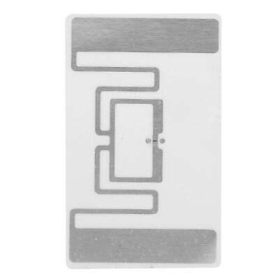 100pcs Ur107r Uhf Rfid Tags Sticker Labels 860-960mhz 52x32mm Epc Tid Iso Iec Ss