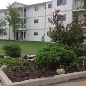 2 bedroom top floor corner apartment in Camrose. SPECIAL PRICE!