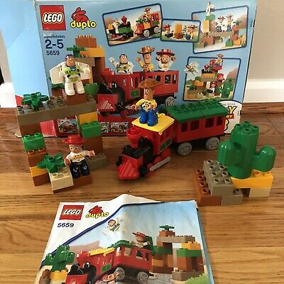 LEGO - Duplo 5659 -  2010 Disney Toy Story 3- The Great Train Chase  With Box