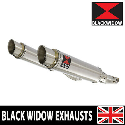 Z1000 SX 10-20 4-2 With Panniers Exhaust Silencers 350mm Round Stainless SG35R for sale  Shipping to Ireland