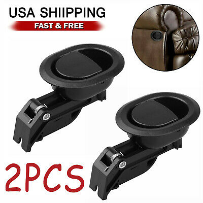 2Pcs Universal Recliner Replacement Pull Handle Chair Sofa Couch Release Lever