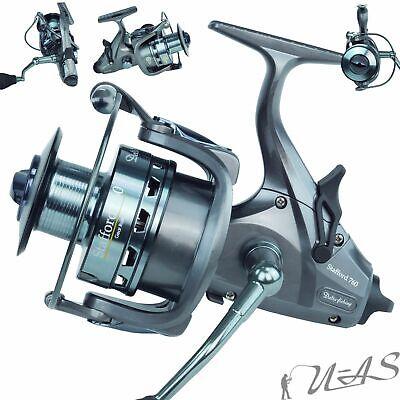 Delta Fishing Stafford 760 Freilaufrolle 7KL 2200M//40er 5,1:1 Karpfen Rolle Sha