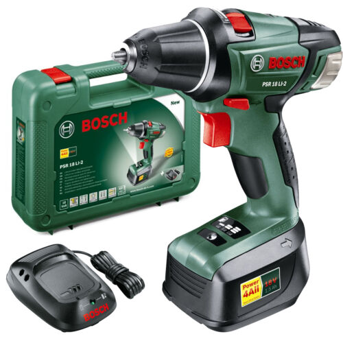 bosch power4all psr 18 li 2 18v cordless compact drill driver in enfield cordless drills. Black Bedroom Furniture Sets. Home Design Ideas