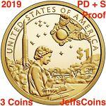 2020 PDS SACAGAWEA NATIVE AMERICAN Anti-Discrimination Law P D S PROOF 3 Dollars
