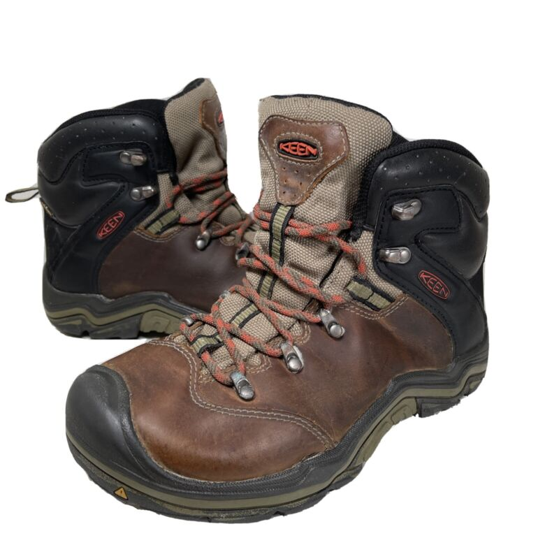 Keen Leather Waterproof Hiking Boots Youth Size 3 Women's Size 4.5