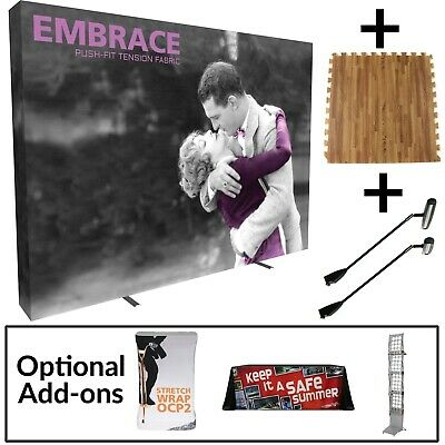 Embrace 10 Fabric Wall Display Trade Show Starter Kit