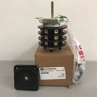 New Electroswitch 24203b Rotary Switch