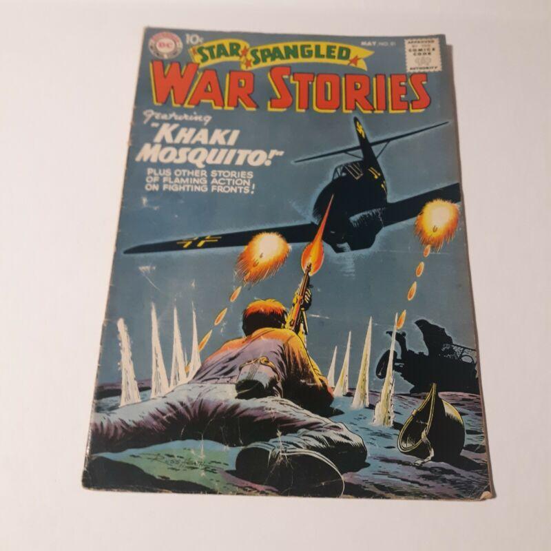 STAR SPANGLED WAR STORIES # 81 MAY 1959