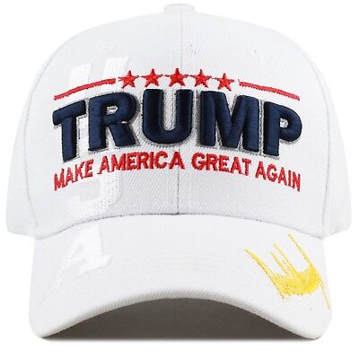 The Hat Depot Exclusive Trump Hat Make America Great Again White
