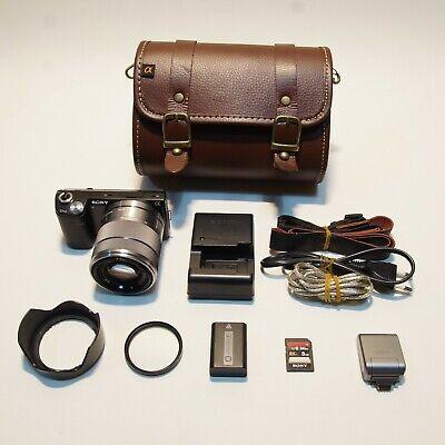[No scratch!!]Sony NEX 5N 16.1MP Mirrorless Camera w/ 18-55mm F/3.5-5.6 Lens Kit