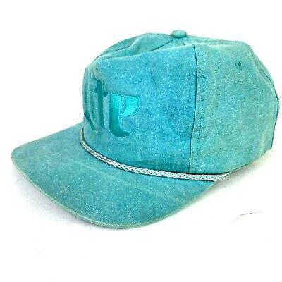 MILLER LITE Beer 80's/90's High Crown Retro Rope Trim Vintage SnapBack Hat