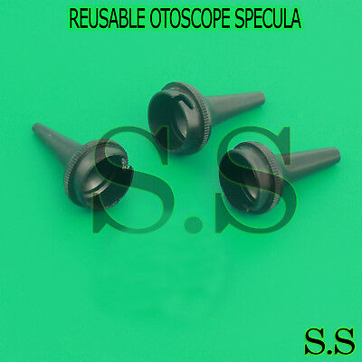 3 Otoscope Ear Disposable Specula 2.5 4 5mm