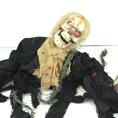 Animated Crawling Zombie Halloween Walking Dead Skeleton Corpse Corp Haunt House