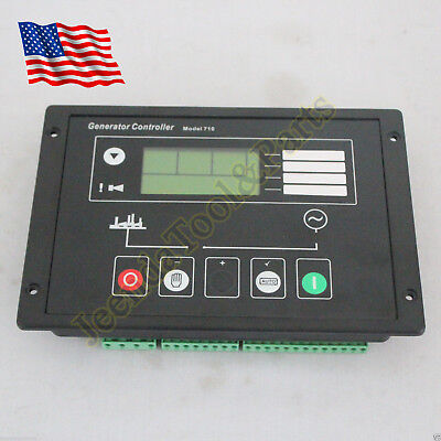 Generator Auto Start Control Panel Dse710 For Deep Sea Electronics Spare Parts