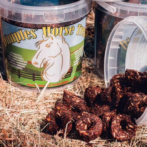 WINDING WAY FARMS Dimples Horse Treats 3lb Bucket
