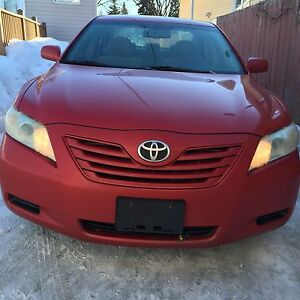 2008 Toyota Camry LE with Safetied- price reduced to sell fast