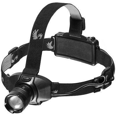 LED ALU Stirnlampe Kopflampe 3 Modi Joggen laufen Handwerker Taschen Lampe 180lm (Handwerker Taschenlampe)