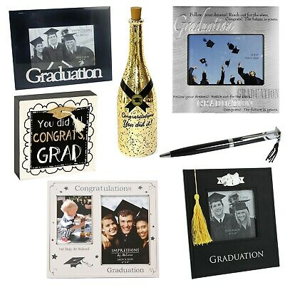 Graduation Gifts - Photo Frames, Pen, Plaque & More - Choose Item