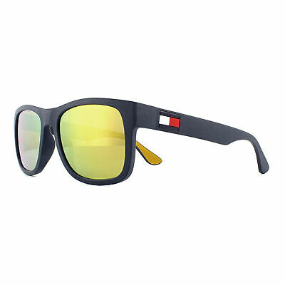 Tommy Hilfiger Sonnenbrille Th 1556/S Dcd Sq Dunkelblau Gelb Gold Spiegel