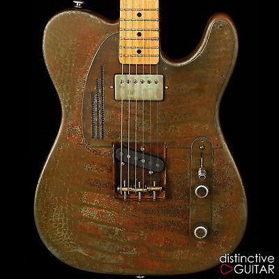 Nuevo James Trussart Óxido O Matic Steelcaster Traje Eléctrica Tele Guitar Namm