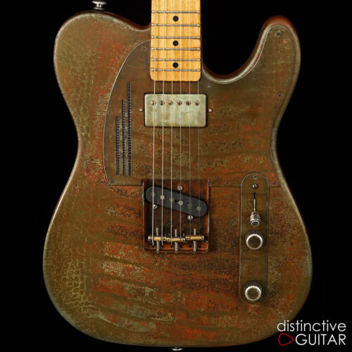 New James Trussart Rust O Matic Steelcaster Custom Electric Tele Guitar Namm