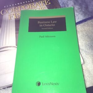 Businesses Law Book