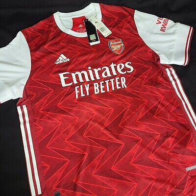 New Adidas 2021 ARSENAL Authentic Home Soccer Jersey Football Shirt FH7815 Sz XL image
