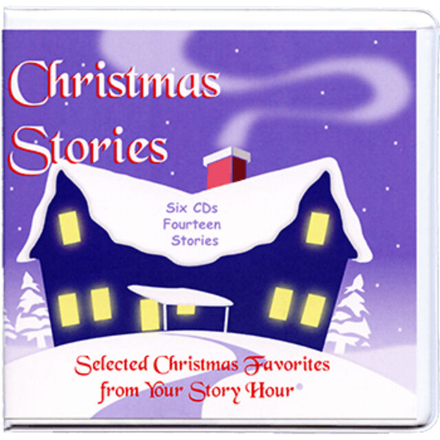 NEW! Your Story Hour Christmas Stories Audio CD  A Christmas Carol Story Angel