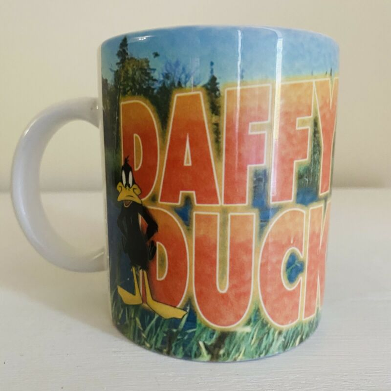 Vintage Daffy Duck Looney Tunes Coffee Mug 1996 Edition