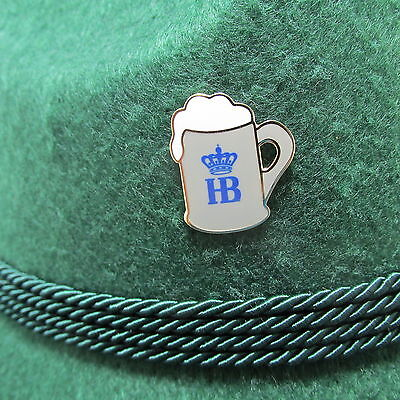 HB Beer Stein Oktoberfest Hat Pin