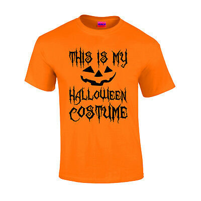 This is My Halloween Costume Scary T-shirt Pumpkin Scary Face Horror Gift Tops - This Is Halloween Horror