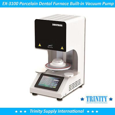 Porcelain Furnace Dental Lab Built-in Vacuum Pump. All In One