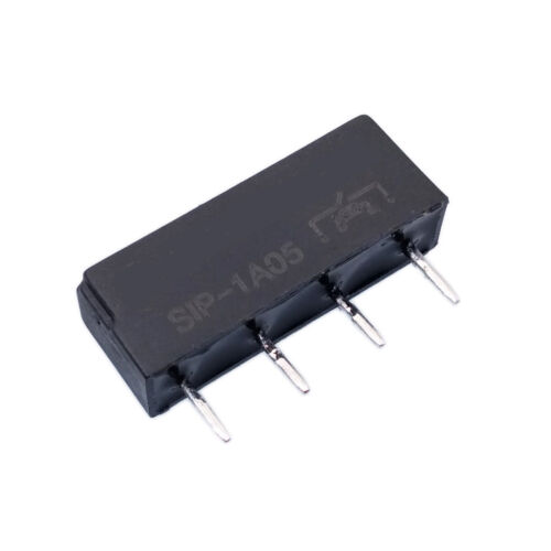 US Stock 10 pcs Perfect 5V Relay SIP-1A05 Reed Switch Relay 4 PIN