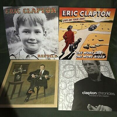 Lot Of 5 Eric Clapton 12