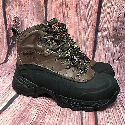 Skechers Radford Wp Composite Toe Men Waterproof Insulated Work Boots Sz 8 130