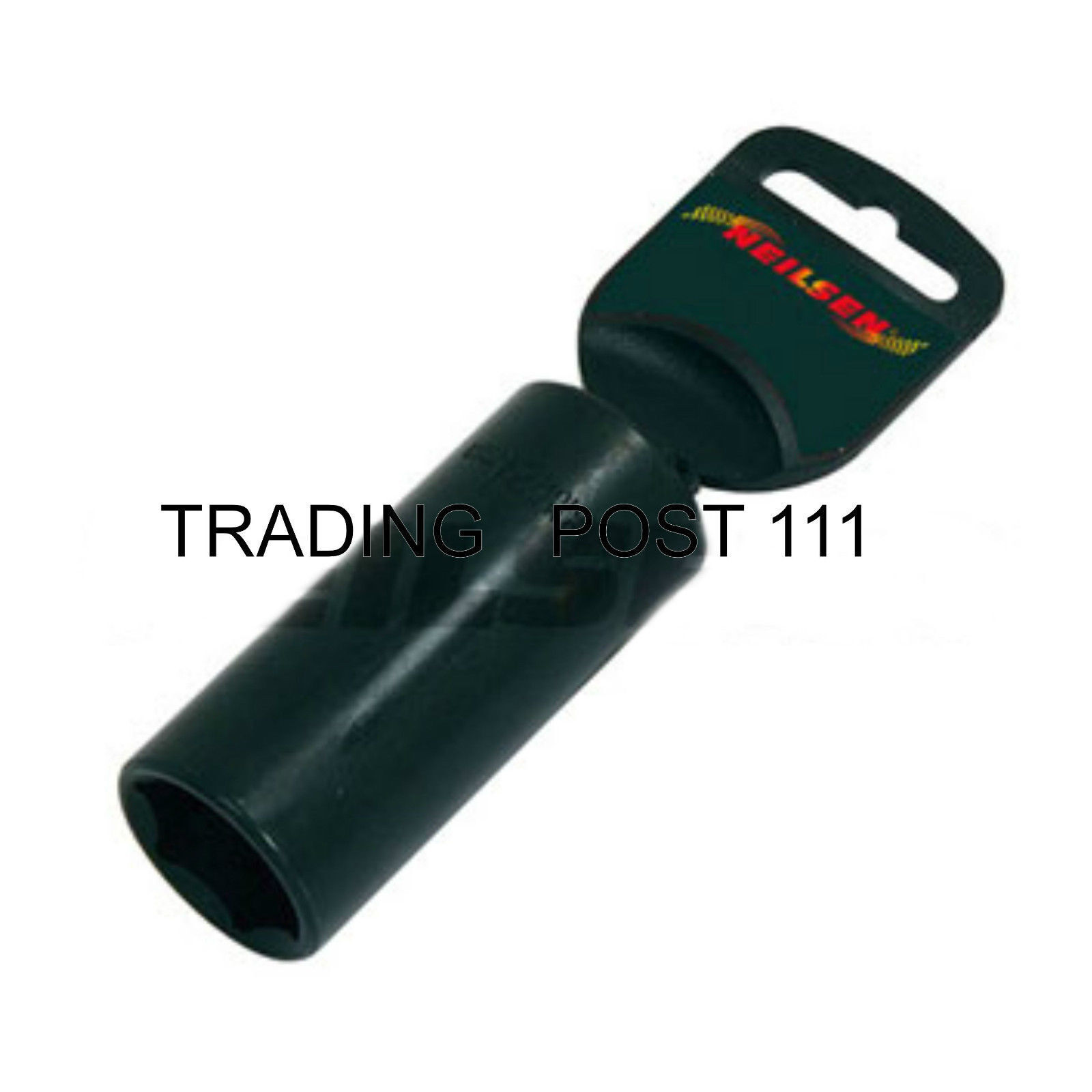 """Neilsen 27mm Deep Impact Socket 1/2"""" Square Drive Air Hand Wrench  3176"""