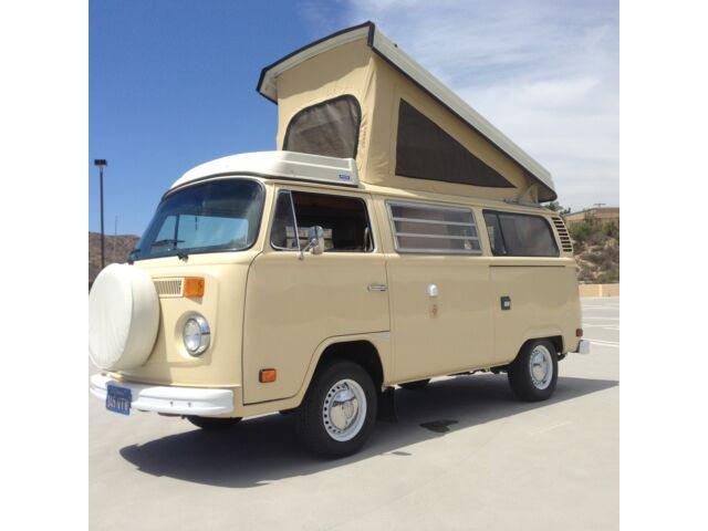 1978 california automatic volkswagen vw westfalia camper van bus deluxe used volkswagen bus. Black Bedroom Furniture Sets. Home Design Ideas