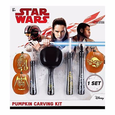New ! DISNEY Star Wars Classic Characters Halloween Pumpkin Carving Kit](Star Wars Pumpkin Carving)