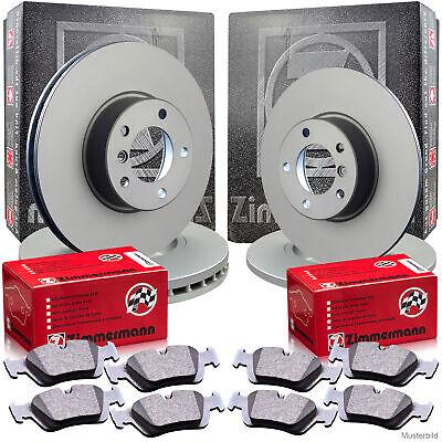 Zimmermann Bremsscheiben & Beläge MERCEDES W203 CL203 C209 R171 Vorne & Hinten