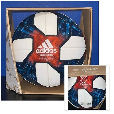 MLS OMB Nativo Questra match ball  style DN8698  size 5