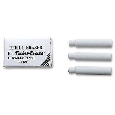 Pentel Twist Erase Refill Eraser 12 Boxes 3 Erasers Per Box Pentel E10
