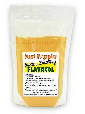 Better Buttery Flavacol - Theater Popcorn Seasoning Butter