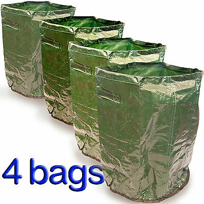 4 x Potato Planter Bag Grow Your Own Patio Garden Reuseable Vegetable tubs