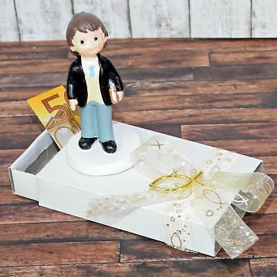 ღ Geldgeschenk zur Kommunion Konfirmation Firmung Junge ღ Geschenkbox Geld Box ()
