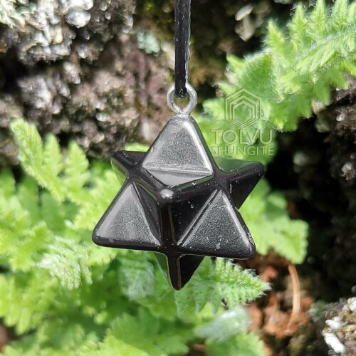 Shungite Merkaba Energy Polyhedron Exclusive handmade Limited edition, Tolvu
