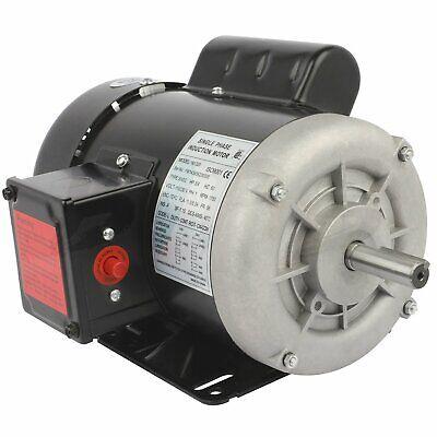 Electric Motor 34 Hp Single Phase 58 Shaft 1750 Rpm 56 Frame 60 Hz Tefc