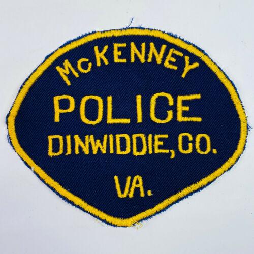 McKenney Police Dinwiddie County Virginia VA Patch (B5)